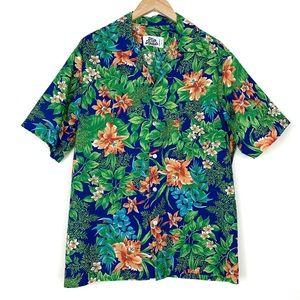 Hilo Hattie Hawaiian Button Up Shirt
